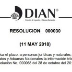 Resolución 000030 de 2018